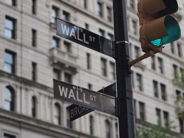 Wall Street street signs