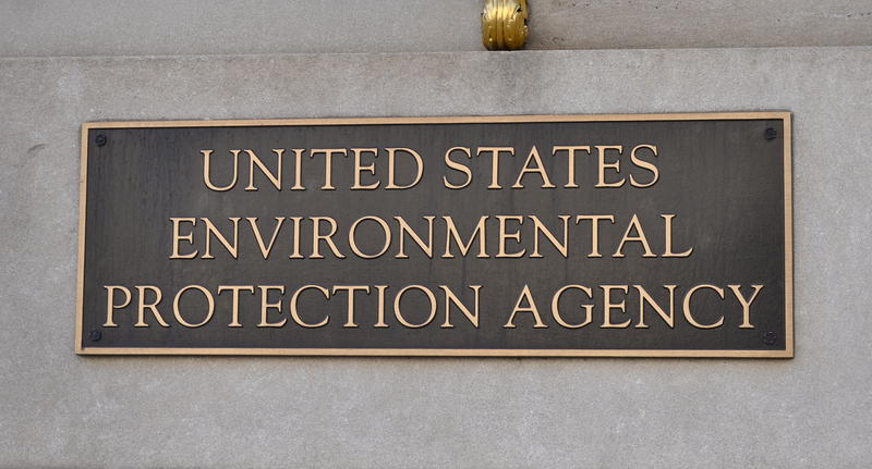 U.S. Environmental Protection Agency sign