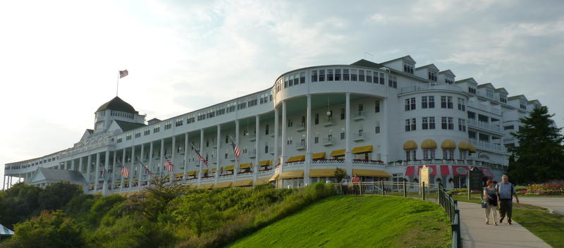 The Mackinac Policy Conference is held at the Grand Hotel on Mackinac Island