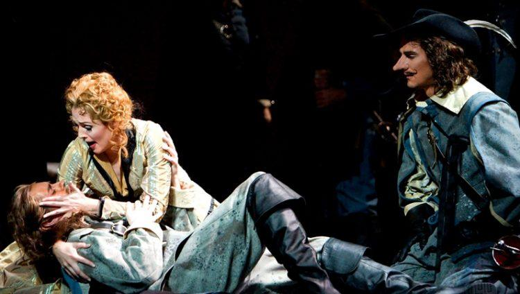 Michigan Opera Theatre will present Cyrano de Bergerac with music by David DiChiera and a libretto by Bernard Uzan, after Edmond Rostand's play, from May 13 through May 21.