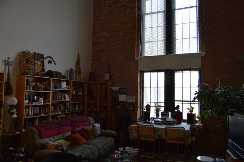 Judy Gail Krasnow's apartment within the old prison.