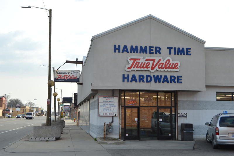 Hammer Time True Value Hardware is one of a handful of businesses operating in MorningSide for decades.