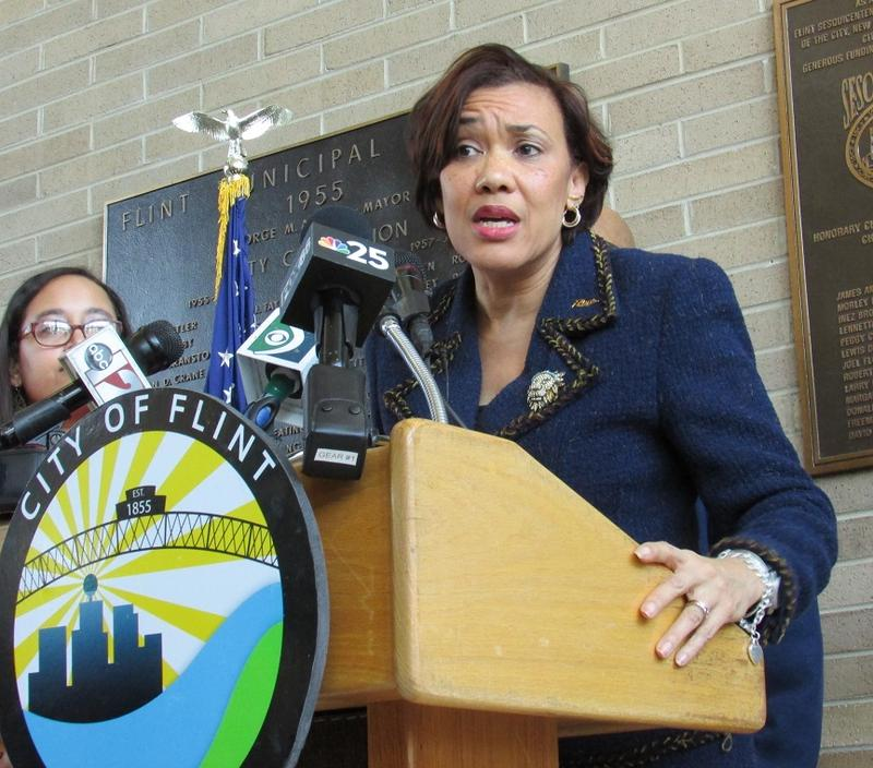 Flint Mayor Karen Weaver (file photo)