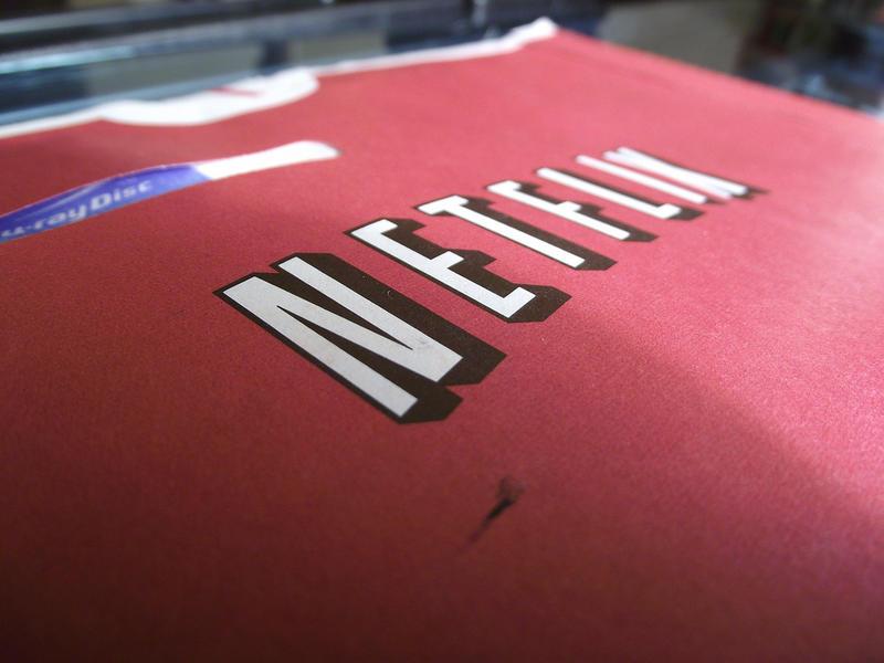 Netflix mailer.