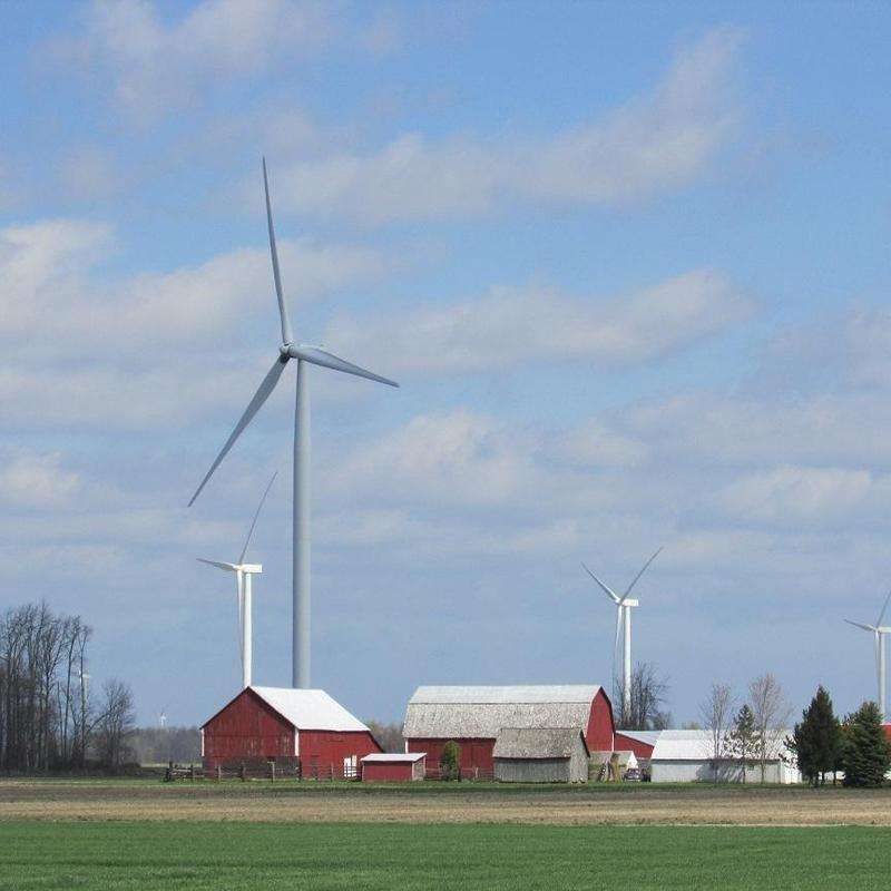 'Wind farm' takes on a new, and for some uncomfortable' meaning in Huron County