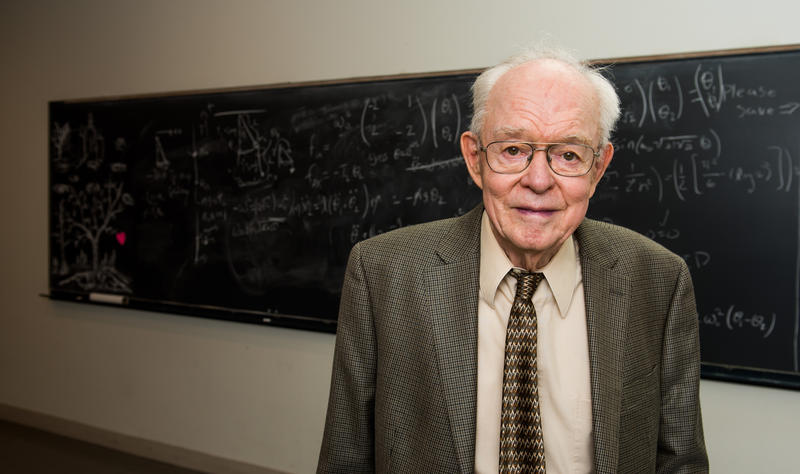 Michigan-born astrophysicist Eugene Parker.