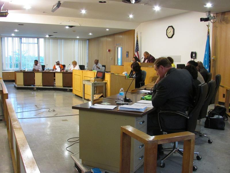 The Flint city council ponders its next decision