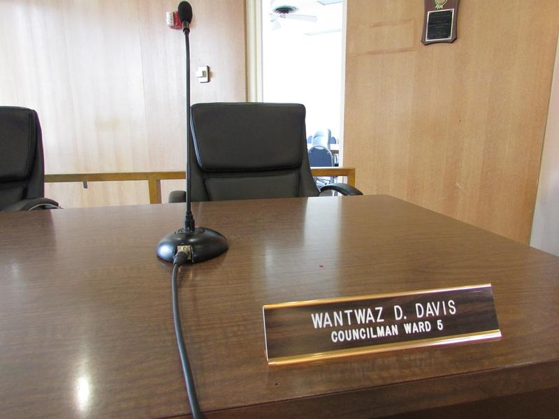 Flint City Councilman Wantwaz Davis missed a special city council meeting last week after he was jailed on a probation violation