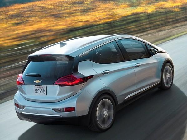 The Chevrolet Bolt, a long-range electric car