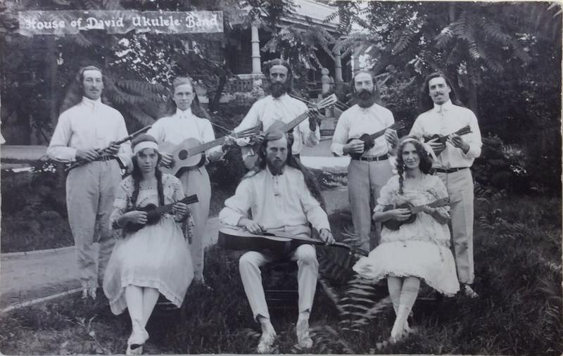 The House of David religious society in Benton Harbor had an amusement park, a ukulele band and a baseball team.