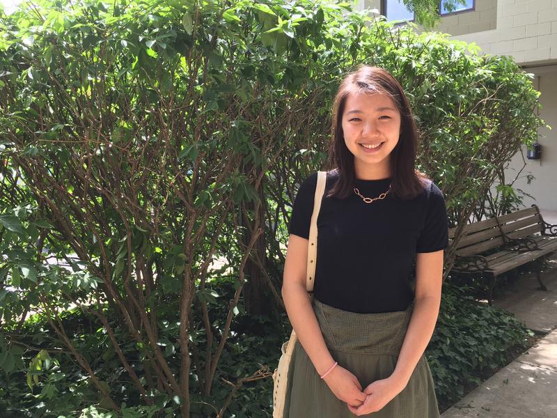 Megan He, winner of the 2016 President's Environmental Youth Award.