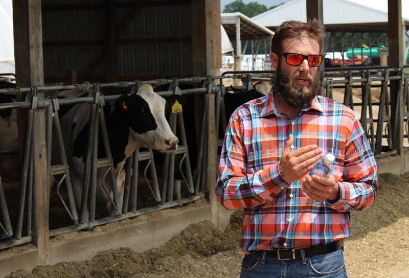Jeremy Werth runs a dairy farm with his family near Alpena. In 2015, he learned that 80 of his cows had bovine tuberculosis.