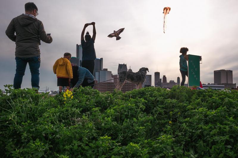 Festival organizer Matt Tait said every culture in the world has its own kite design.