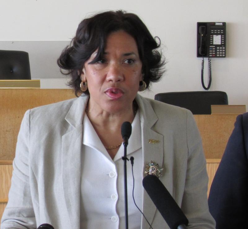 Flint Mayor Karen Weaver (file)