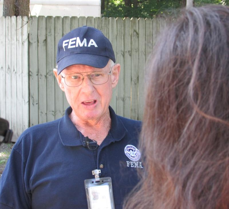 The Federal Emergency Management Agency has eight teams surveying damage in  Isabella, Midland, Bay and Gladwin counties.