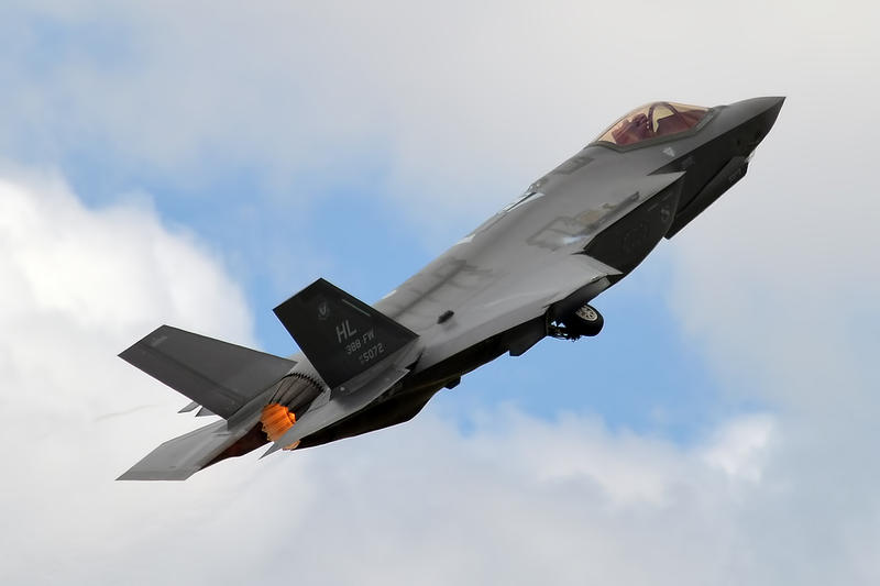 A U.S. Air Force F-35 Lightning II jet.