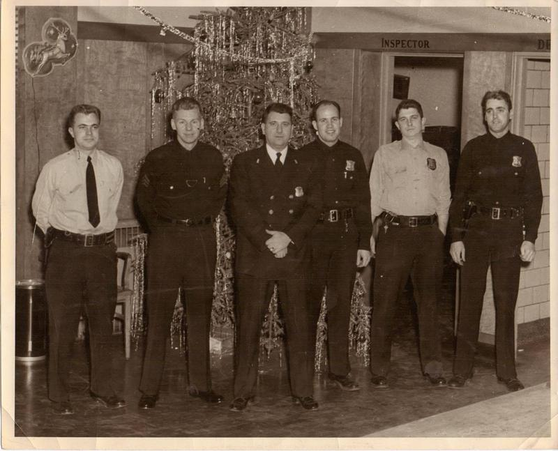 Dan O'Mara (pictured here on the far right) was a police officer in Detroit's 10th Precinct, and was on duty when the 1967 uprising began.