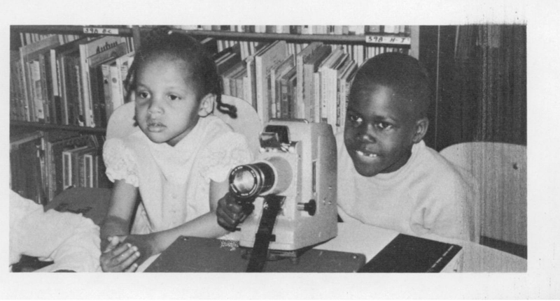 Students from Detroit's Neighborhood Educational Center Program in 1970.