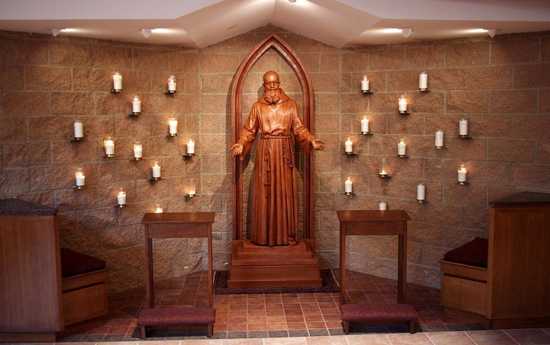shrine to Solanus Casey