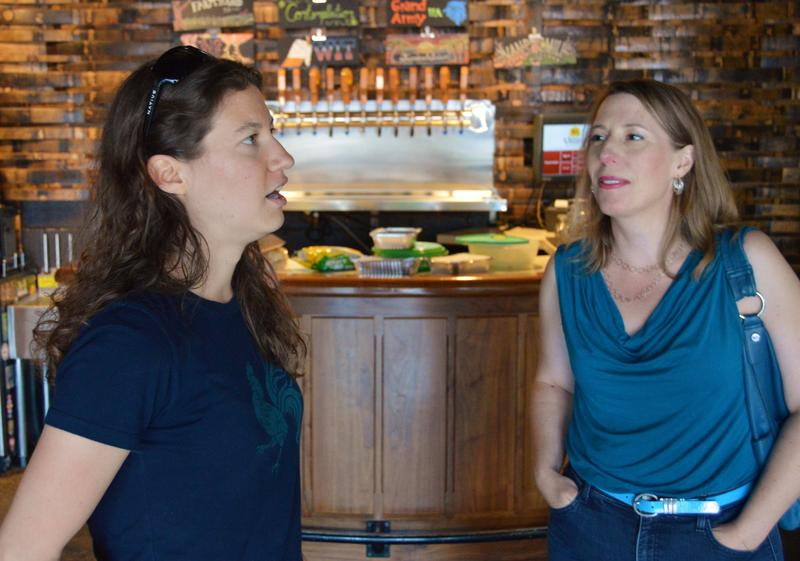 Kate Avery talks with Tammy Coxen about the philosophy behind the brewery.