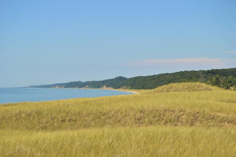 A view of the Saugatuck Dunes.