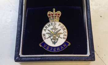 a veteran medal