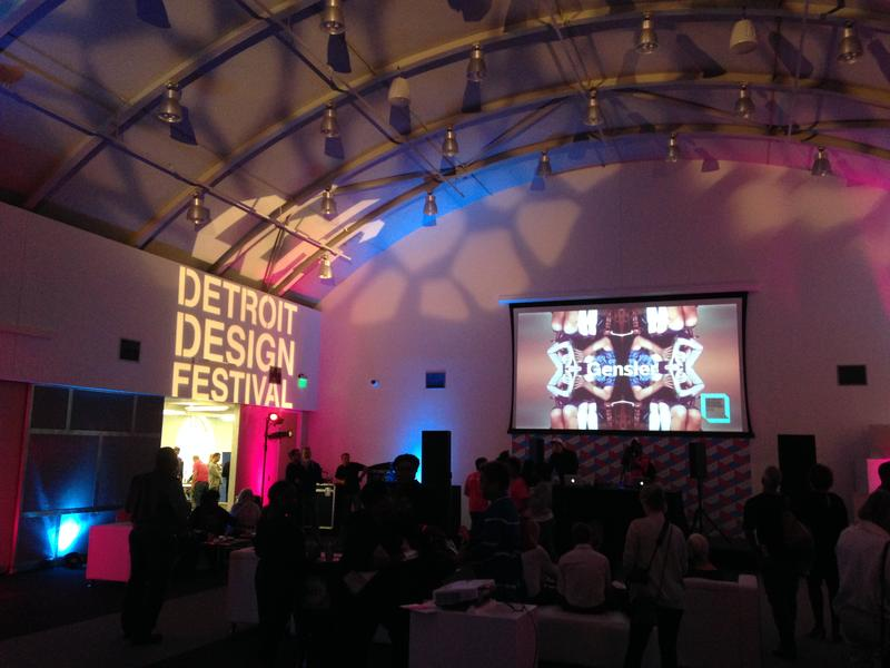 The 2014 Detroit Design Festival. The 2017 edition is wrapping up this weekend.