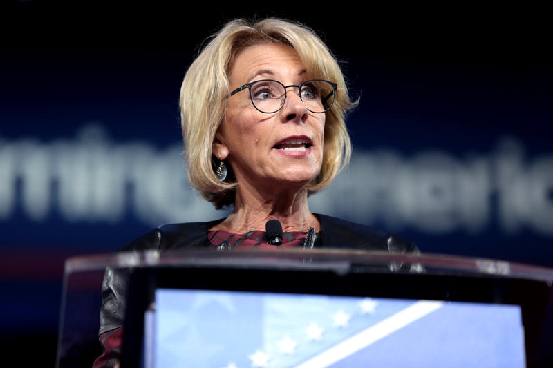 Secretary of Education Betsy DeVos is aiming to change Obama-era sexual assault policies for college campuses.