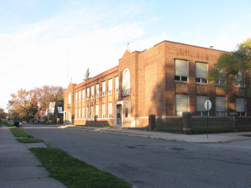 transfiguration school building
