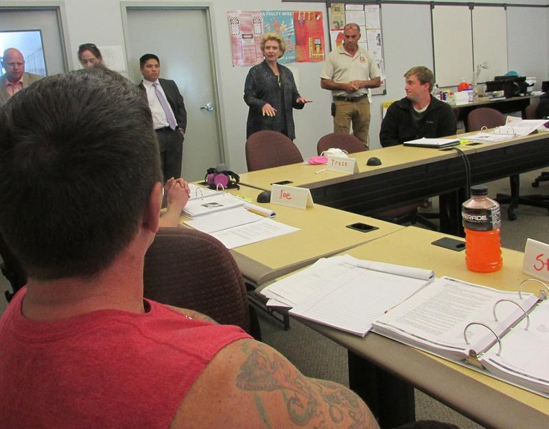 U.S. Sen. Debbie Stabenow, D-Mich., toured job training centers across Michigan last week.