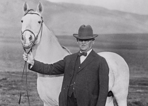 will keith kellogg with horse