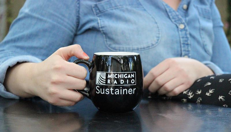 Michigan Radio Sustainer coffee mug