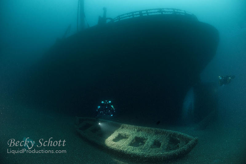 image of sunken ship