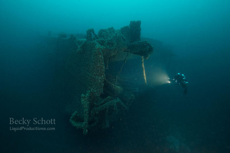 image of a sunken ship