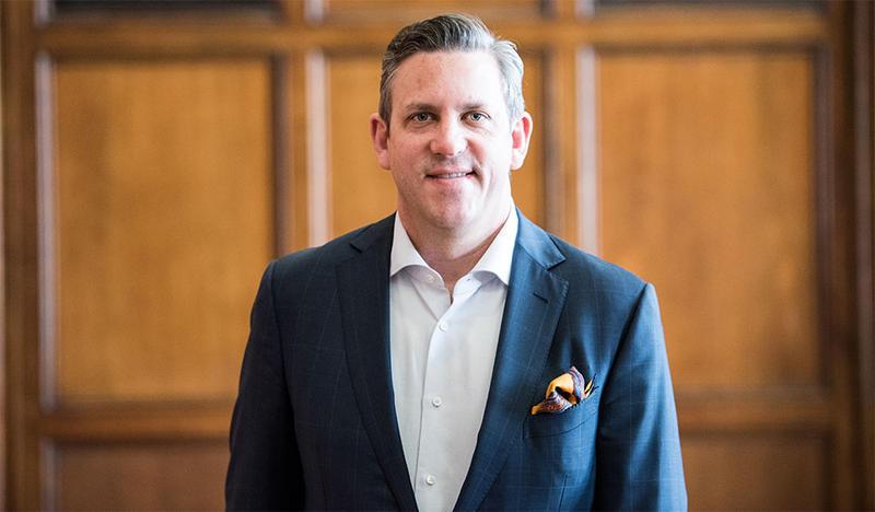 UMS' new president Matthew VanBesien.