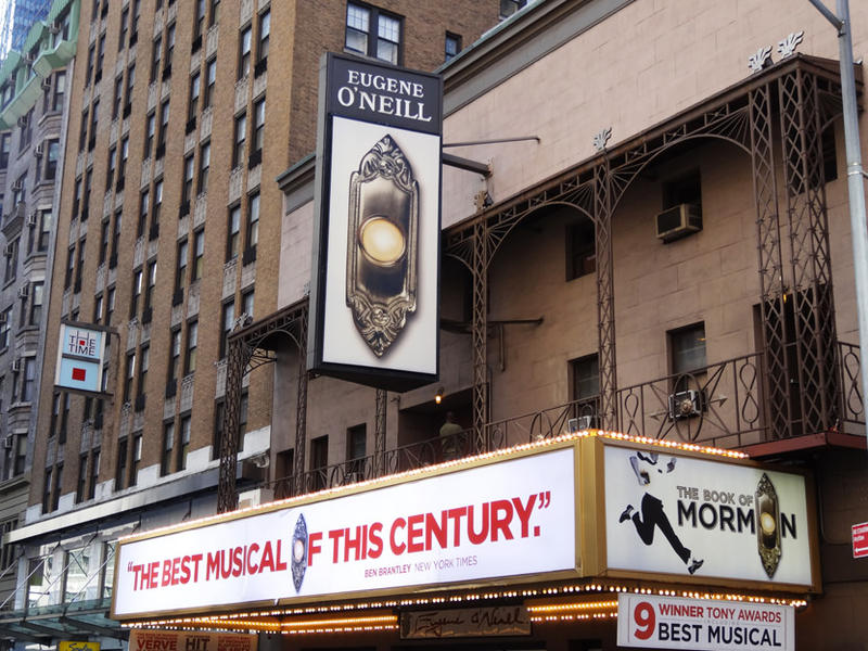 A Broadway theater called the Eugene O'Neill