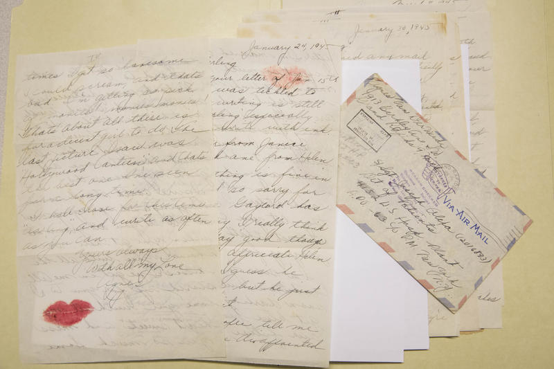 Correspondence between Joseph Olexa of Detroit and Agnes Van Der Weide of Grand Rapids around World War II.