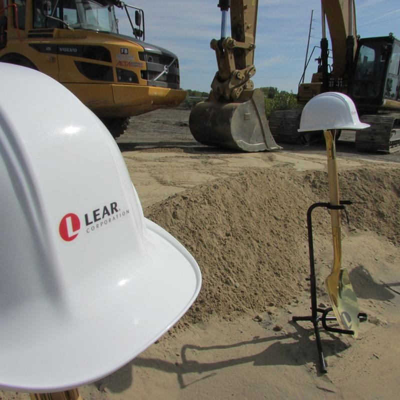 Lear Corp breaks ground for new seat assembly plant in Flint