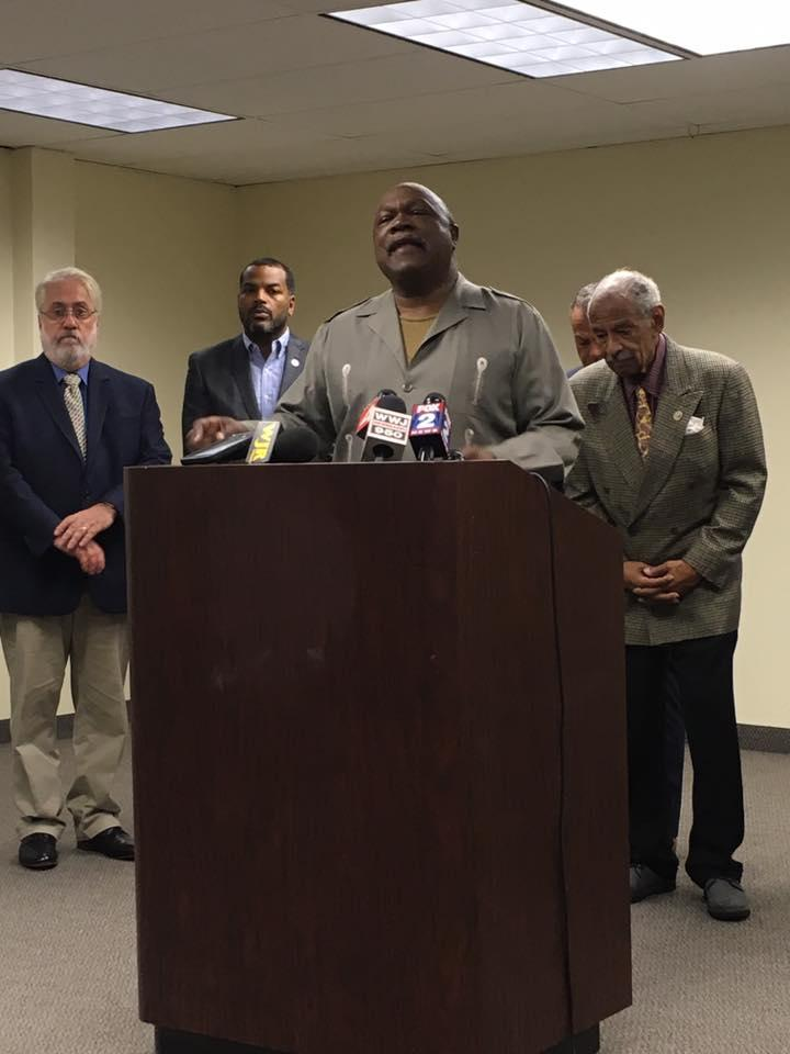 Detroit NAACP President Rev. Wendell Anthony led the call for