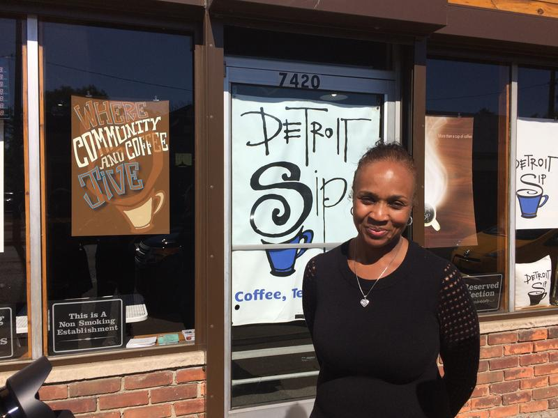 Jevana Watson is opening a business on McNichols near Livernois