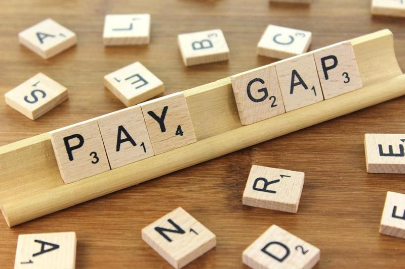 scrabble letters that spell pay gap