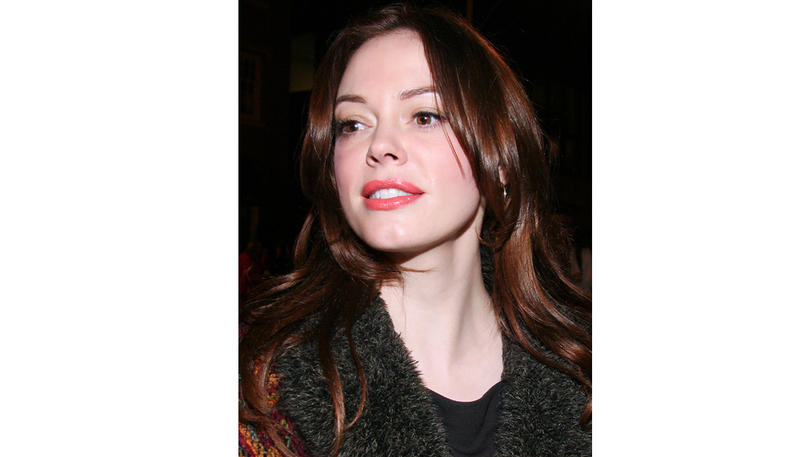 Actor Rose McGowan in 2008.