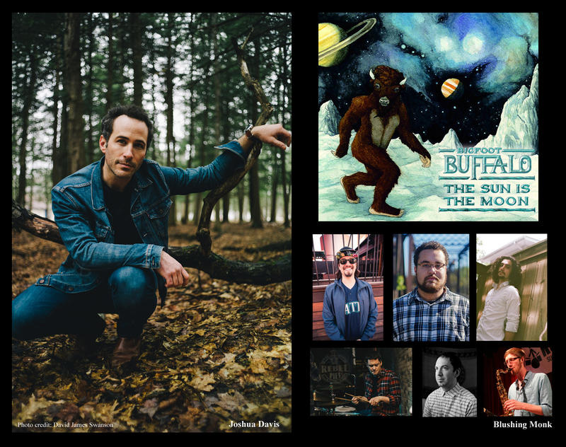 Joshua Davis, Bigfoot Buffalo and Blushing Monk are out with new music.