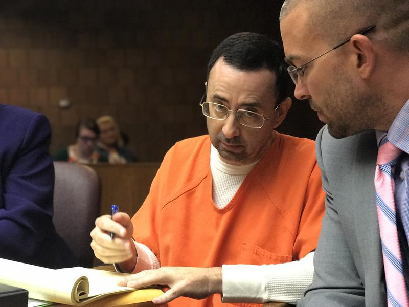 Nassar in court.