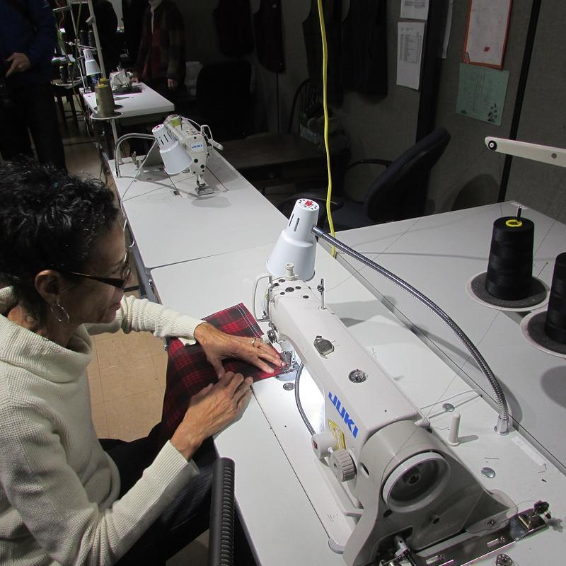 St. Luke's NEW Life Center Commercial Sewing programs provides skills to people who need them in Flint