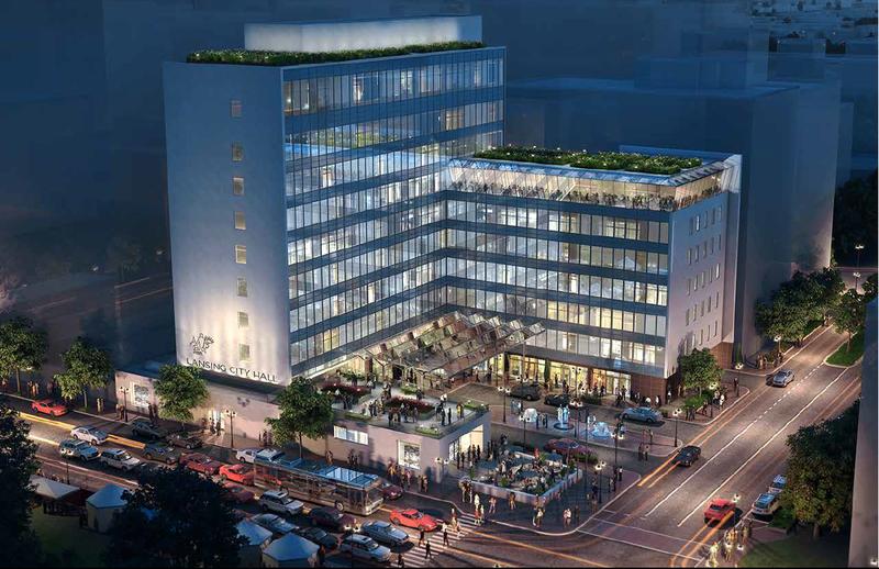 Artist concept of Beitler redevelopment plan