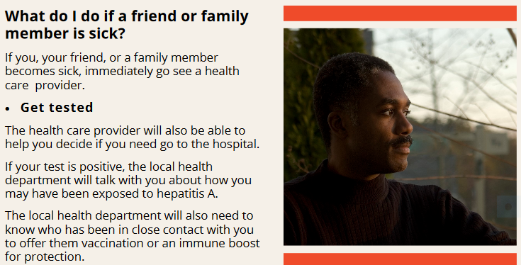 From MDHHS brochure on preventing Hepatitis A.