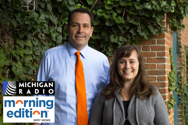 "Michigan Radio ""Morning Edition"" host Doug Tribou and producer Lauren Talley are producing the new series ""Mornings in Michigan."""