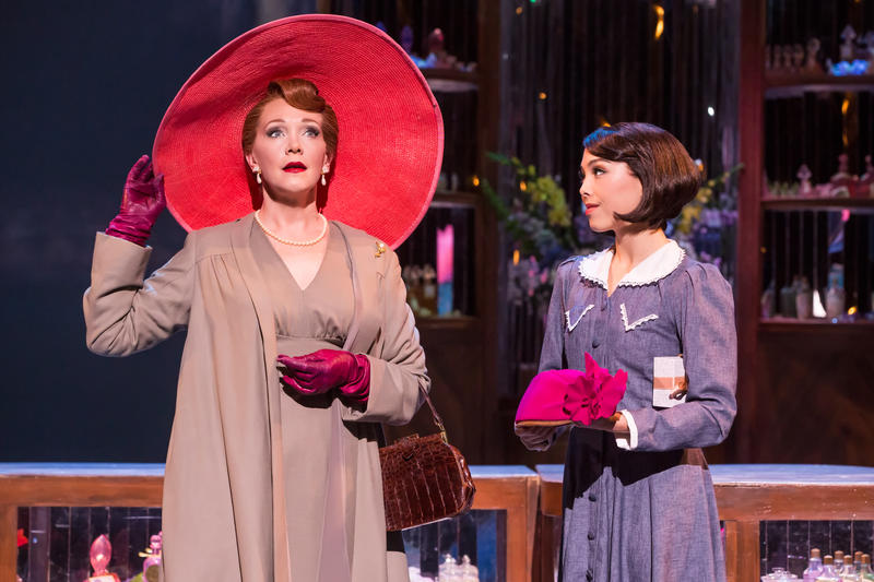 "Teri Hansen (left) and Allison Walsh perform in ""An American in Paris."""