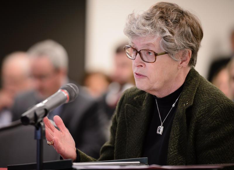 MSU President Lou Anna Simon